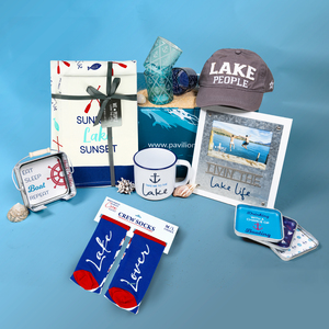 Lake Lover Gift Box by Packaged With Positivity - $129.00 Value