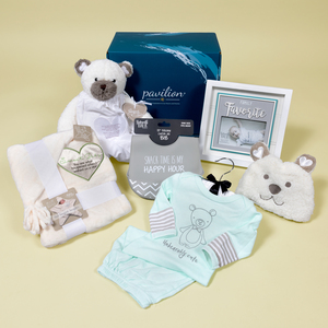Unisex Baby Gift Box by Packaged With Positivity - $129.00 Value