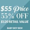 Baby Boy Gift Box by Packaged With Positivity - A