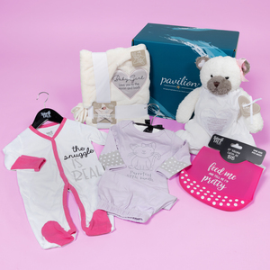 Baby Girl Gift Box by Packaged With Positivity - $110.00 Value
