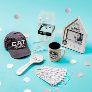 Cat Lover Gift Box by Packaged With Positivity - $115.00 Value