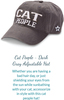 Cat Lover Gift Box by Packaged With Positivity - Hat