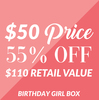 Birthday Girl Gift Box by Packaged With Positivity - A