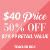 Teacher Gift Box by Packaged With Positivity - A