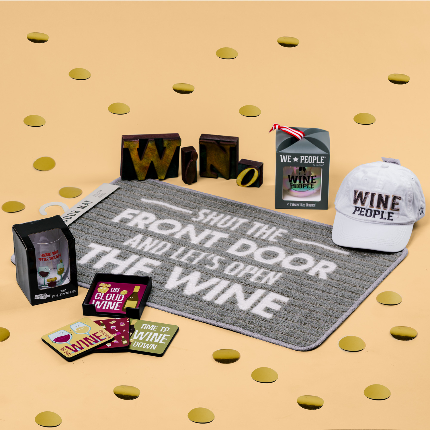 Wine Lover Gift Box by Packaged With Positivity - Wine Lover Gift Box - $110.00 Value