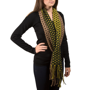 Chartreuse by H2Z Scarves - Interlocking Scarf