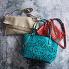 Alison Teal by H2Z Laser Cut Handbags - Scene