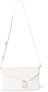 "White by H2Z Handbags - 12.5"" x 1"" x8"" Fold Over Clutch"