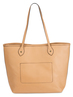 Jessica Hazelnut by H2Z Laser Cut Handbags - Back