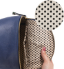 Navy Ali by H2Z Laser Cut Handbags - Interior2