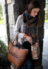 Walnut Wine by H2Z Handbags - Model