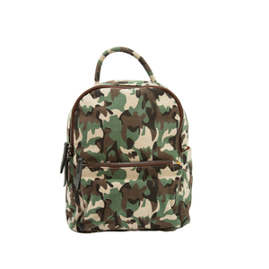 Alex Moss by H2Z Handbags - Canvas Camo Backpack