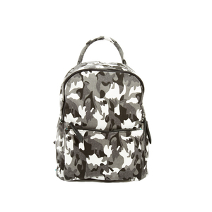 Alex Noir by H2Z Handbags - Canvas Camo Backpack