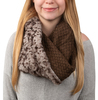 Warm  Brown by H2Z Scarves -
