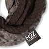 Warm  Brown by H2Z Scarves - Package