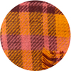 Apricot Sunset by H2Z Scarves - CloseUp