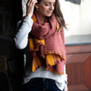 Apricot Sunset by H2Z Scarves - Model