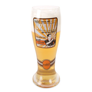 Brother by Wine All The Time - 23oz Pilsner Beer Glass