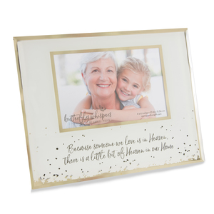 "Heaven by Butterfly Whispers - 9.25"" x 7.25"" Frame (Holds 6"" x 4"" Photo)"