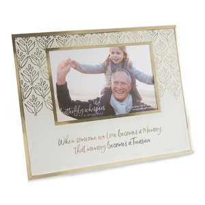 "Memory by Butterfly Whispers - 9.25"" x 7.25"" Frame (Holds 6"" x 4"" Photo)"
