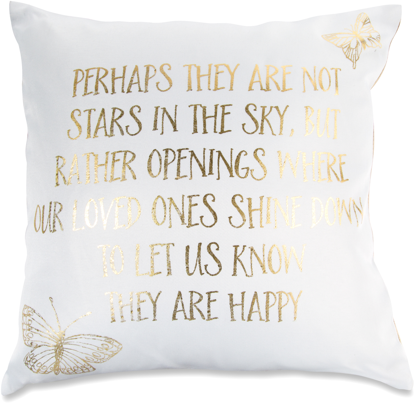"Stars in the Sky by Butterfly Whispers - Stars in the Sky - 12"" Pillow"