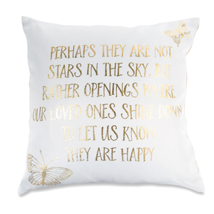 "Stars in the Sky by Butterfly Whispers - 12"" Pillow"