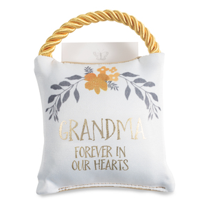 "Grandma by Butterfly Whispers - 4.5"" Memorial Pocket Pillow"