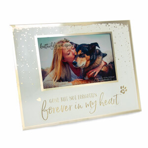 "Forever in My Heart by Butterfly Whispers - 9.25"" x 7.25"" Frame (Holds 6"" x 4"" Photo)"