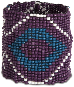 "Mulberry by Tribal Chic Collection - 2"" Beaded Stretch Bracelet"