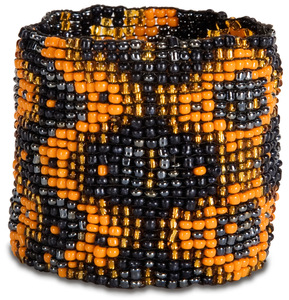 "Tapestry by Tribal Chic Collection - 2"" Beaded Stretch Bracelet"