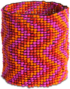 "Fire Sky by Tribal Chic Collection - 2"" Beaded Stretch Bracelet"