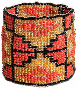 "Canyon by Tribal Chic Collection - 2"" Beaded Stretch Bracelet"