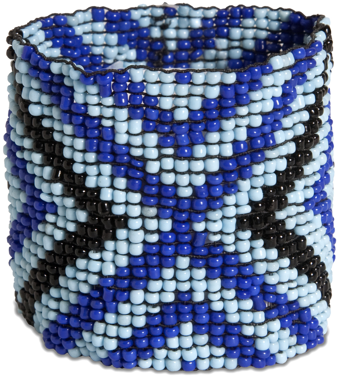 "Reflection by Tribal Chic Collection - Reflection - 2"" Beaded Stretch Bracelet"