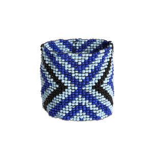 "Reflection by Tribal Chic Collection - 2"" Beaded Stretch Bracelet"