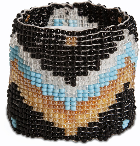 "Moonlight by Tribal Chic Collection - 2"" Beaded Stretch Bracelet"