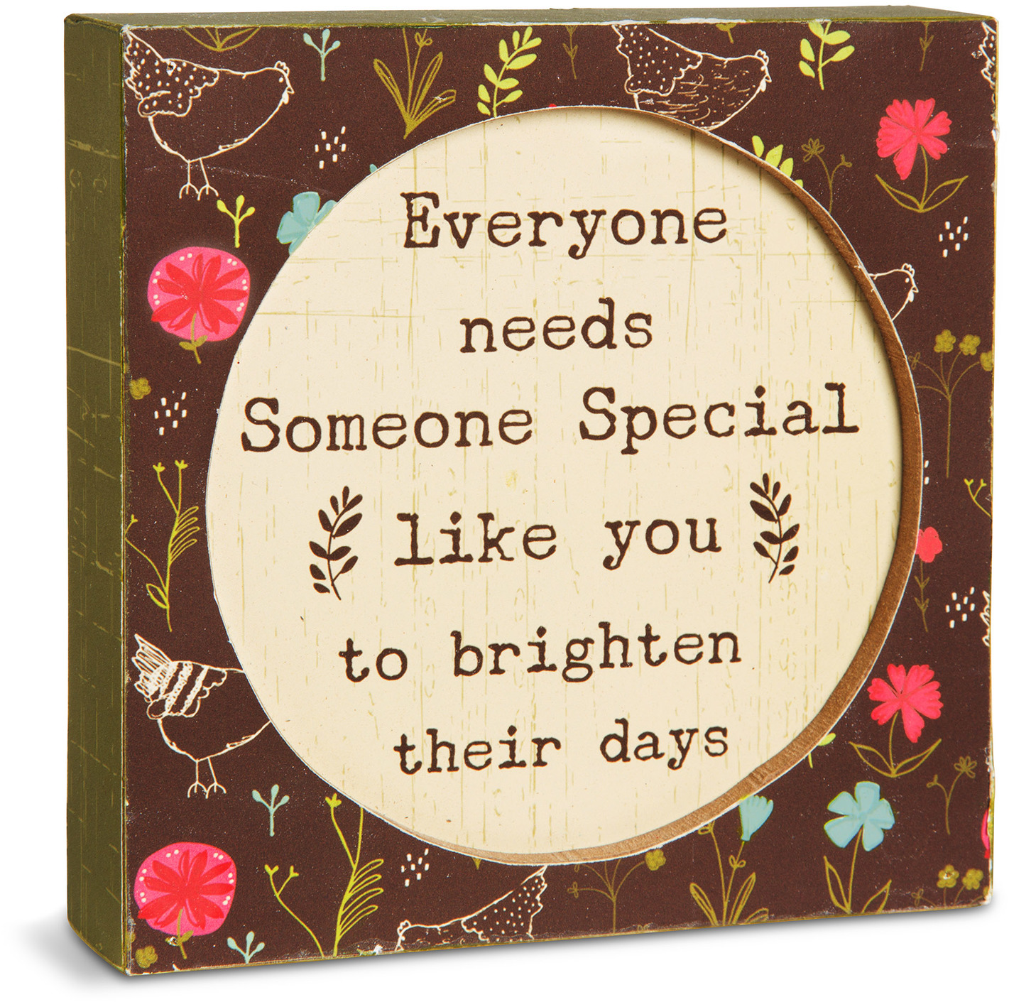 "Someone Special by Live Simply by Amylee - Someone Special - 4.5"" x 4.5"" Plaque"