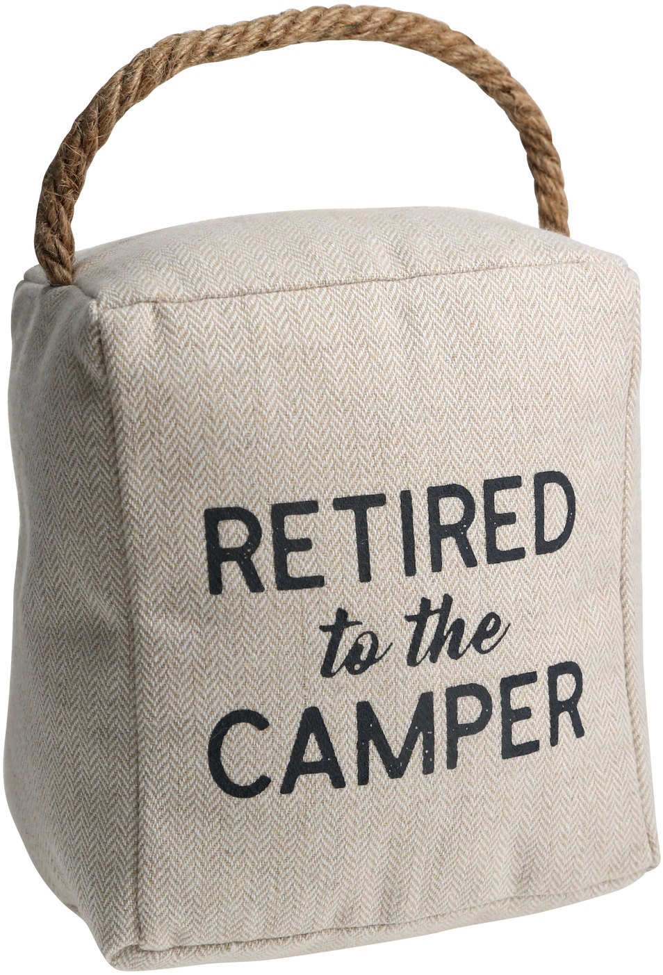 "Camper by Retired Life - Camper - 5"" x 6"" Door Stopper"