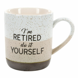 Do It Yourself by Retired Life - 15 oz. Mug