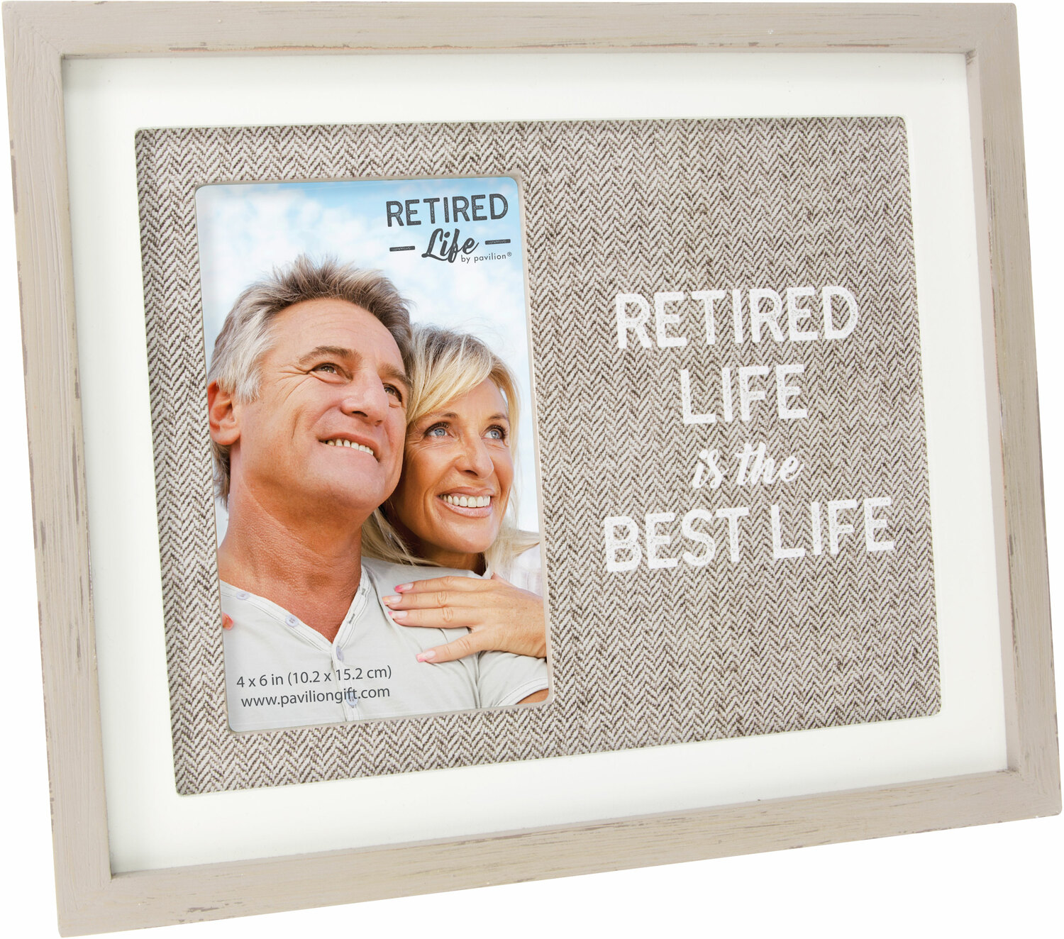 "Best Life by Retired Life - Best Life - 9.75"" x 8.25"" Frame (Holds 4"" x 6"" Photo)"