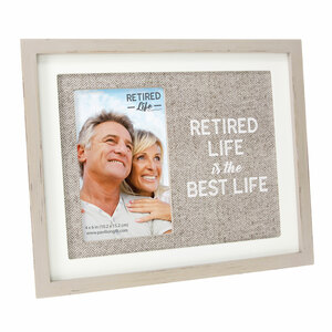 "Best Life by Retired Life - 9.75"" x 8.25"" Frame (Holds 4"" x 6"" Photo)"