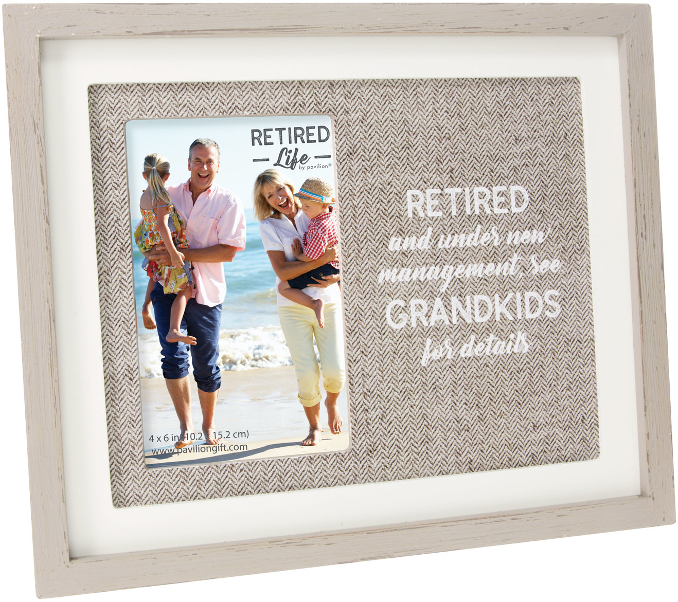 "New Management by Retired Life - New Management - 9.75"" x 8.25"" Frame (Holds 4"" x 6"" Photo)"