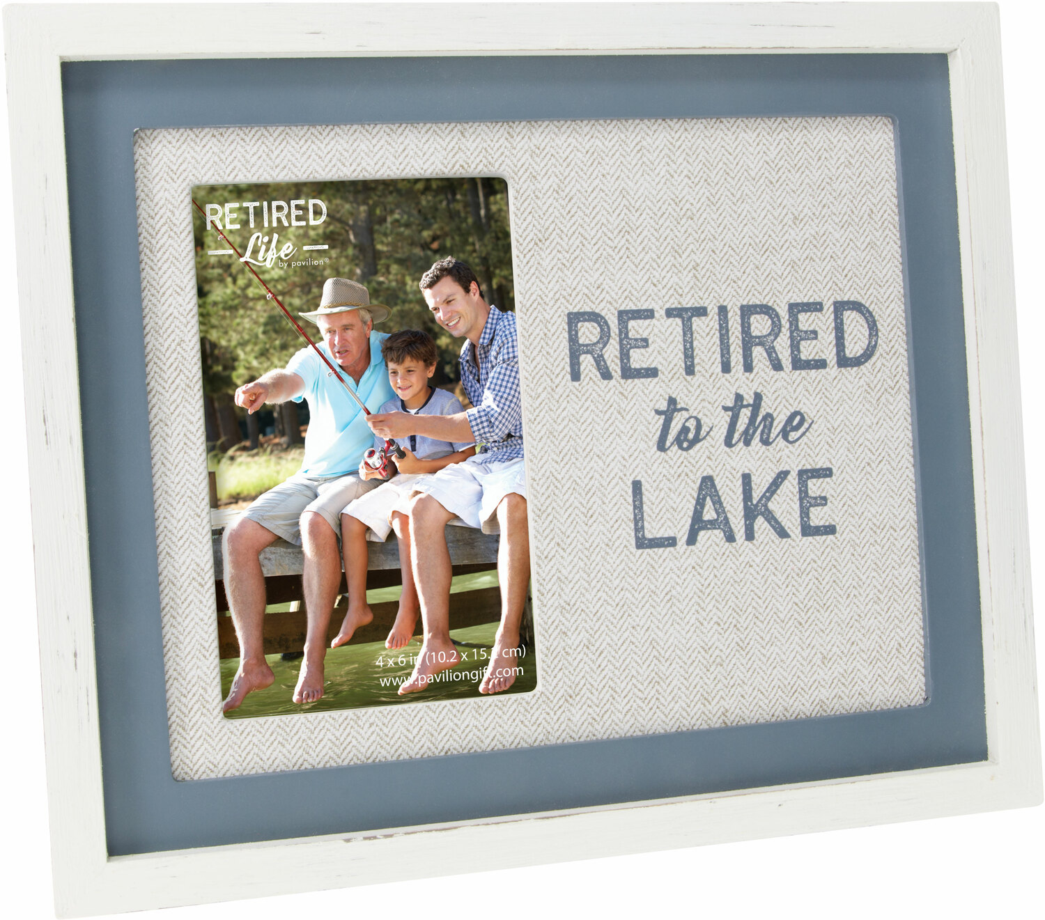 "Lake by Retired Life - Lake - 9.75"" x 8.25"" Frame (Holds 4"" x 6"" Photo)"