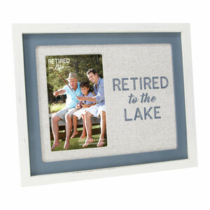 "Lake by Retired Life - 9.75"" x 8.25"" Frame (Holds 4"" x 6"" Photo)"