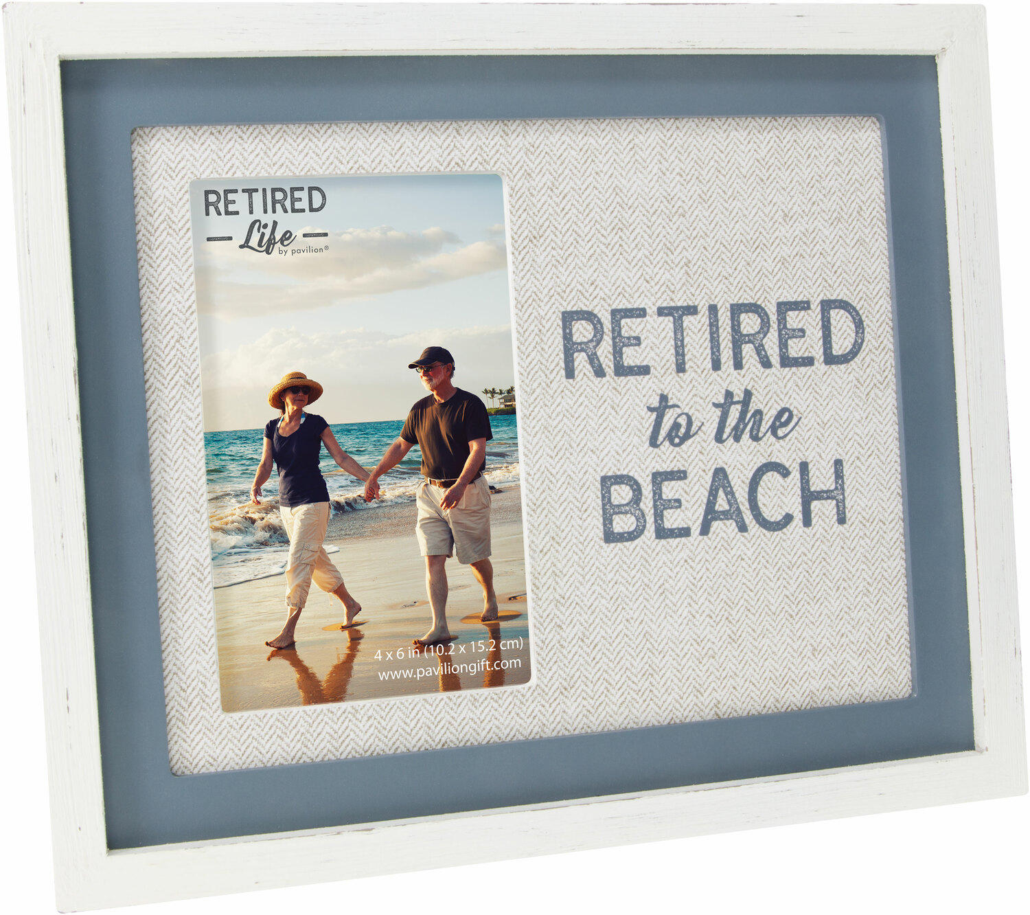 "Beach by Retired Life - Beach - 9.75"" x 8.25"" Frame (Holds 4"" x 6"" Photo)"