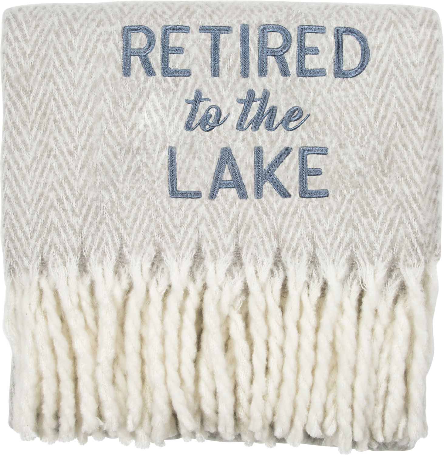"Lake by Retired Life - Lake - 50"" x 60"" Blanket"