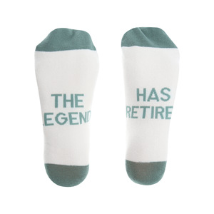 The Legend by Retired Life - M/L Unisex Sock