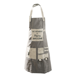 Flipping Awesome by Retired Life - Canvas Grilling Apron