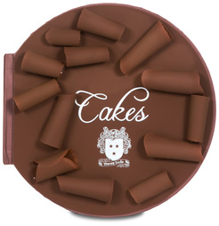 "A World of Cakes by Toots Gift Books - 11.5"" Gift Book, Chocolate Fragrance"