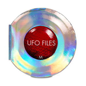 "UFO Files by Toots Gift Books - 11.5"" Gift Book"