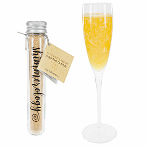 Congratulations Mango Swirl Shimmer by Shimmerology - Bubbly Drink Shimmer Powder (15g Tube)
